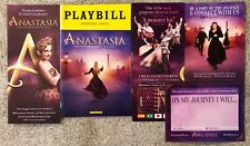 Anastasia OBC color Playbill with *flyer and postcard package* - Broadway