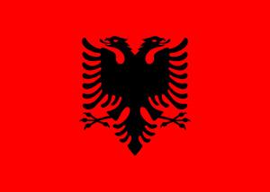 ALBANIA FLAG - ALBANIAN NATIONAL FLAGS - Hand, 3x2, 5x3, 8x5 Feet