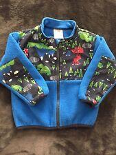 The North Face Baby Boy 12-18 Polartec Fleece Jacket EUC