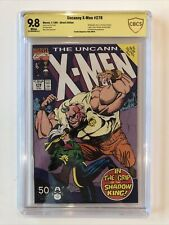 Uncanny X-Men #278 CBCS 9.8 signed by Paul Smith VERIFIED 1991 not CGC SS