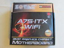 Zotac A75-ITX mini ITX motherboard for AMD FM1 CPU