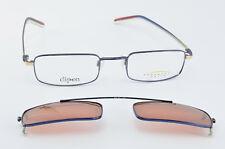 Serengeti Optix gafas mod. ser 064 C 50 Navy cen Canadian Design Sun clip-on