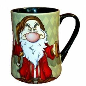 Disney Grumpy Morning Espresso cup 7cm, 2.5 inch, Disneyland Paris   N:2841