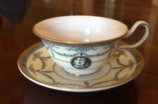 Wedgwood Madeleine Teacup And Saucer, Mint