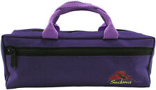 Sedona Canvas Piccolo Case Cover/Bag with Fleece Lining - Royal Purple