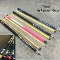 "58"" Canadian Maple Hardwood Billiard Pool Cue Stick Black 19oz with 12mm tip US"