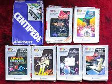 7 Commodore Vic 20 Cartridges Boxed Centipede Gorf Super Lander Cosmic Cruncher