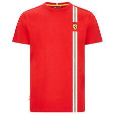 New! Scuderia Ferrari F1 Fanwear Mens Flag Graphic T-Shirt Official Merchandise