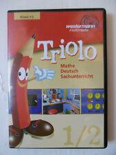 Kinder Lern CD Triolo Mathe Deutsch sachunterricht westermann Klasse 1 / 2