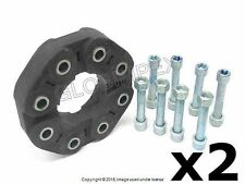 Mercedes W212 W221 FRONT and REAR Flex Disc Kit Set of 2 O.E.M. +WARRANTY