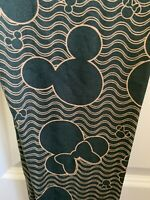 NWT HTF LULAROE Disney Black Gold Mickey Minnie Heads Paisley Leggings OS NBC TC