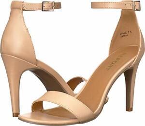 Report Astara Women's Nude Pumps Stiletto Heels Style Single Strap 7M NWB