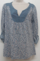 NEW RRP £35 Ex Fat Face Organic Cotton Floral Popover                     (SS60)