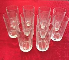Tiffany & Co Atlas Highball & Double Old Fashioned Glasses - Mint Condition