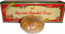 Mysore Sandal Sandalwood Soap 150g -12 bars - USA SELLER FAST SHIPPING - GRADE I