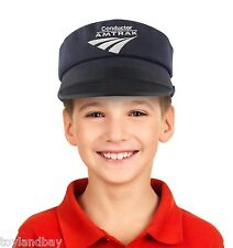 Amtrak Childrens Classic Conducter Hat Embroidered Youth Cap HT017 New
