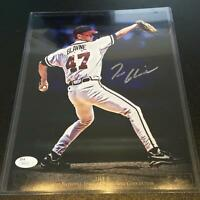 Tom Glavine Signed Panini VIP National Sports Convention 8x10 Photo JSA COA
