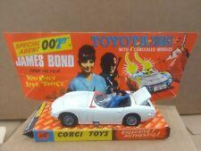 Original Corgi James Bond Toyota 2000 GT Car No 336 With Original Box .