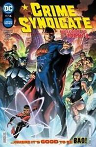CRIME SYNDICATE #1 DC COMICS GEMINI 3/3/21 NM
