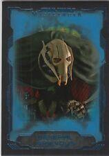 2016 Topps Star Wars Masterwork Blue Base Card #30 General Grievous Parallel