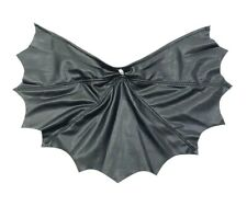 SP-C-SOV: 1/12 XL Black Wired Cape for Mezco One:12 Batman (No figure)