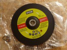 RYOBI METAL/STEEL GRINDING DISC T27 A24 Q BF 230 X 6 X 22.2