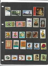 Commonwealth NEW ZEALAND One Stock Sheet Mixed Used Stamps Collection