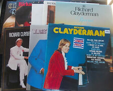 RICHARD CLAYDERMAN 9 LP LOT Instant Collection