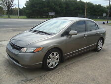 2006 Honda Civic LX Auto Theft Recovered Salvage Rebuildable