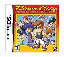 River City Super Sports Challenge - Nintendo DS Free Shipping