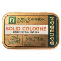 Duke Cannon Solid Cologne Balm Bourbon Oak Barrel Buffalo Trace