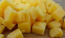 "High Temperature Cheddar Cheese 1/4"" diced (5 lb) for Cooking Sausage Brats ect."