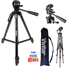 """52"""" PROFESSIONAL TRIPOD WITH QUICK RELEASE FOR CANON EOS REBEL DSLR T5 T6 T3 T1"""