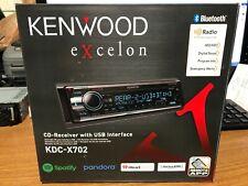 NEW! KENWOOD EXCELON KDC-X702 CD USB BLUETOOTH HD STEREO Head Unit Receiver