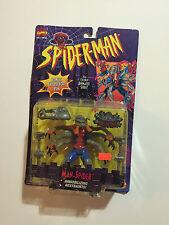 Marvel Animated Series Spiderman Man-Spider  1995 action figure  NIB