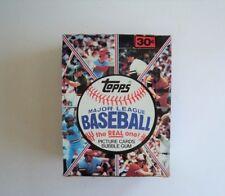 1981 Topps Baseball Display Box Top Condition
