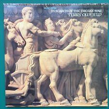 TROJAN WAR BBC Soundtrack LP Terry Oldfield Michael Wood +Great Railway Journeys