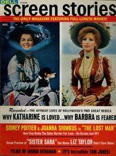 Barbra Streisand Joanna Shimkus Clint Eastwood Screen Stories Aug 1969