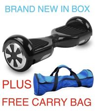 "6.5"" SELF BALANCING ELECTRIC SCOOTER HOVER BALANCE BOARD 2 WHEELS NEW +FREE BAG"
