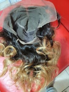 Human Hair 3 Tones 13*6 Lace Frontal Wig 150% Density
