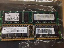 MICRON IBM 768MB 512MB 256MB DDR333 PC2700 PC2100 DESKTOP DDR RAM
