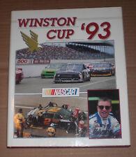 1993 NASCAR Winston Cup Yearbook Dale Earnhardt, Davey Allison, Alan Kulwicki