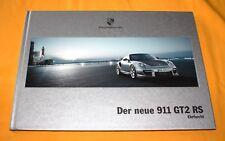 Porsche 911 GT 2 RS 2010 Prospekt Brochure Folder Catalog Prospetto 997