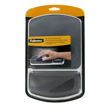 Fellowes Gel Nonskid Mouse Pad w/Wrist Rest