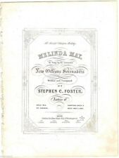 Melinda May, The Beautiful Ethiopian Melody, Original Stephen Foster music, 1850