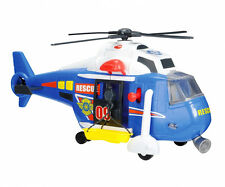 Dickie 41cm Light and Sound Blue Rescue Helicopter From Debenhams 7701967