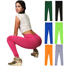 Women's Sexy Yoga Running Pants High Waist Trousers Leggings Fitness Gym Ladies