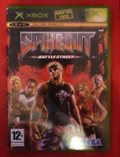 Spikeout PAL Original Xbox Game RARE