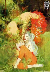 Sideshow HARLEY & IVY Lithograph by Bill Sienkiewicz Fine Art Print 031/100
