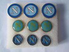 lotto 9 pins lot SSC NAPOLI FC club spilla football calcio pins broches spille